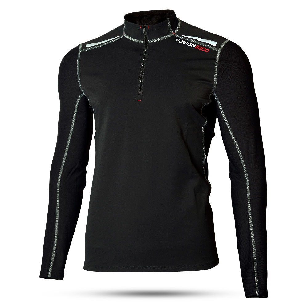 Mens S200 Zip Neck