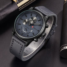 Watches Black Matte Men's Sporty Quartz Watch Men