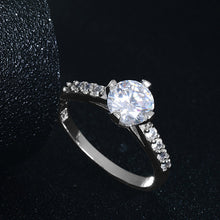 Engagement Rings Round Brilliant Bridal Ring
