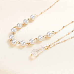 body jewelry Acrylic Back Chain Wedding Necklace