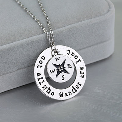 Necklace Compass Necklace