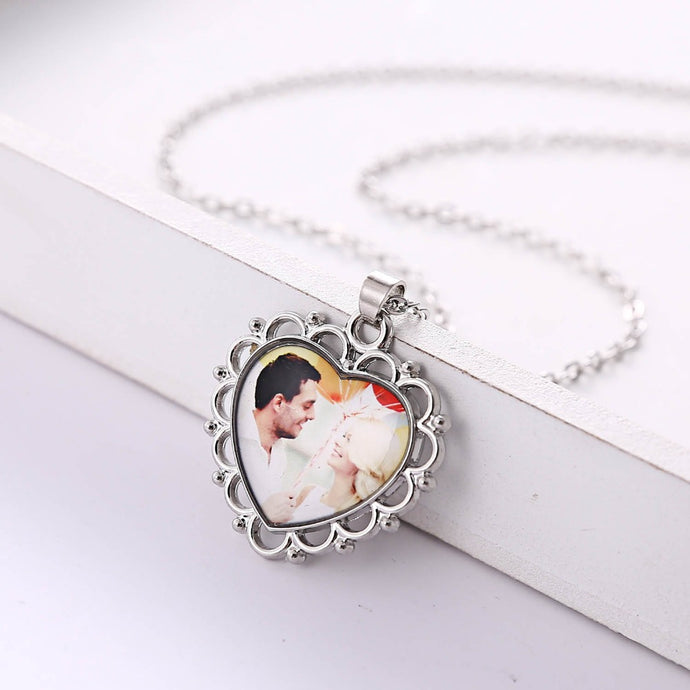 Necklace Personalized Heart Picture Necklace