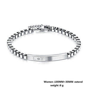 Bracelet Personalized Engraved Couple Bracelets