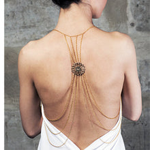 body jewelry Europe Style Back Long Chain
