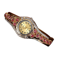 Watches Vintage Rhinestone Bracelet Women Wristwatch