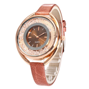 Watches Quicksand Leather Fashion Women Quartz Watch