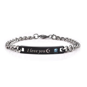 Bracelet I Love You To the Moon and Back Couples Bracelet