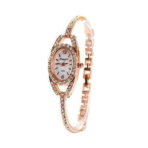 Watches Dainty Skinny Women's Crystal Bracelet Quartz Watch
