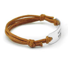 Bracelet Personalized Leather Couples Bracelet