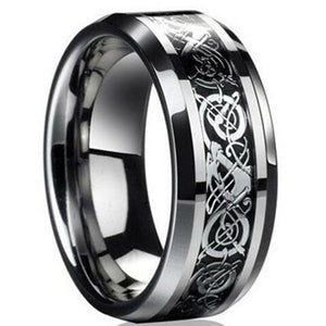 Engagement Rings Vintage Engagement Dragon Steel Ring For Men