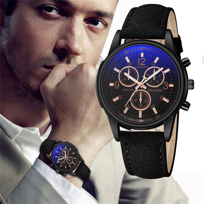 Watches Blue Moon Top Brand Business Wrist Watch For Men