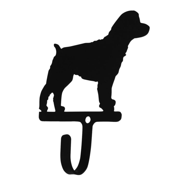 Wrought Iron Cockapoo Wall Hook Small -Wrought Iron Haven