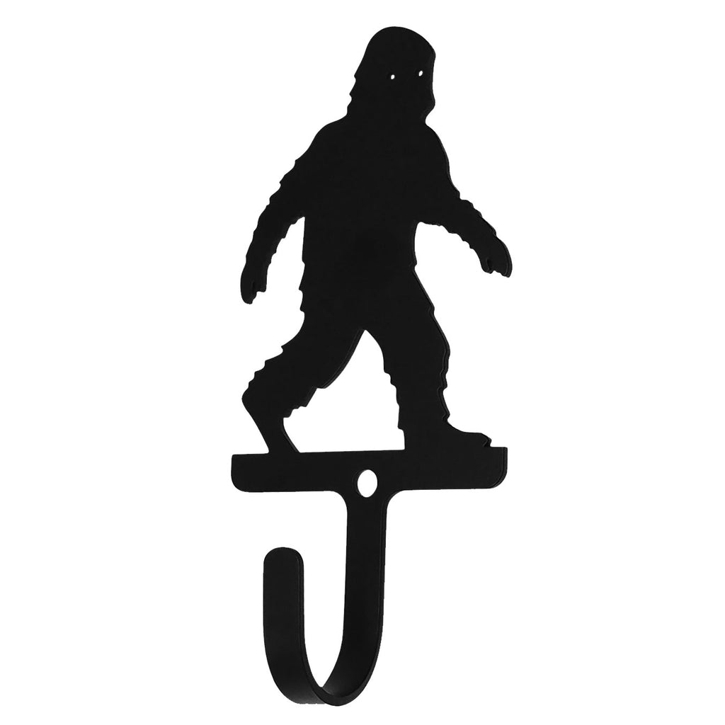 Wrought Iron Big Foot Child Wall Hook Small -Wrought Iron Haven