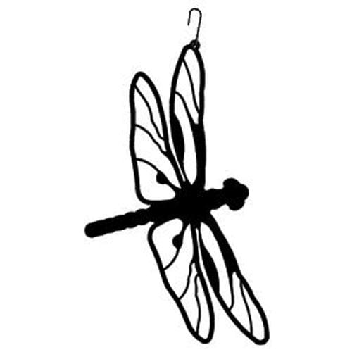 Wrought Iron 16 Inch Dragonfly Hanging Silhouette dragonfly dragonfly decor dragonfly decoration