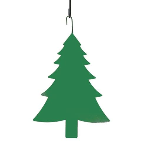 Wrought Iron 16 Inch Green Pine Tree Hanging Silhouette hanging silhouette metal tree tree tree