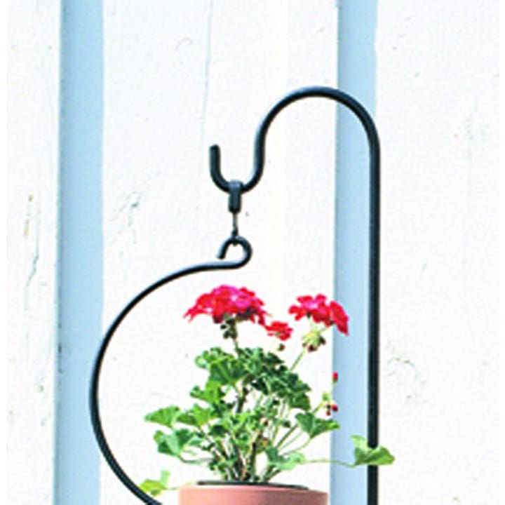 Wrought Iron 2.5 Inch Swivel Hook Lantern Plant Hanger Bracket candle holder plant hanger plant hook