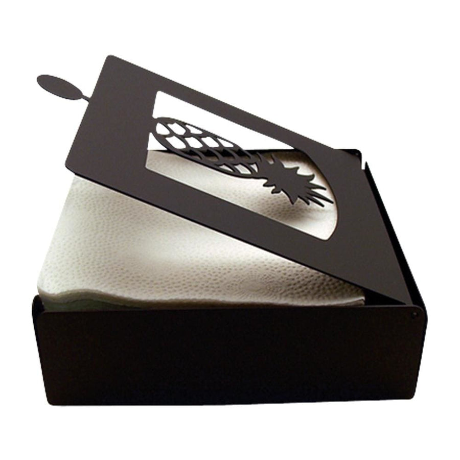 Wrought Iron 2-Piece Loon Flat Napkin Holder cocktail napkin holder napkin holder serviette