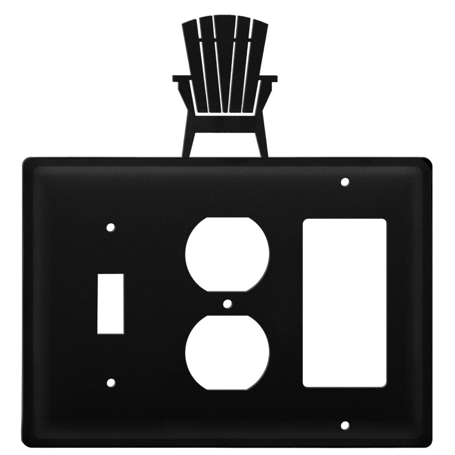 Wrought Iron Adirondack Switch Outlet GFCI Cover light switch covers lightswitch covers outlet cover