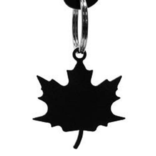 Wrought Iron Autumn Maple Leaf Keychain Key Ring Autumn Decorations Halloween Decorations key chain