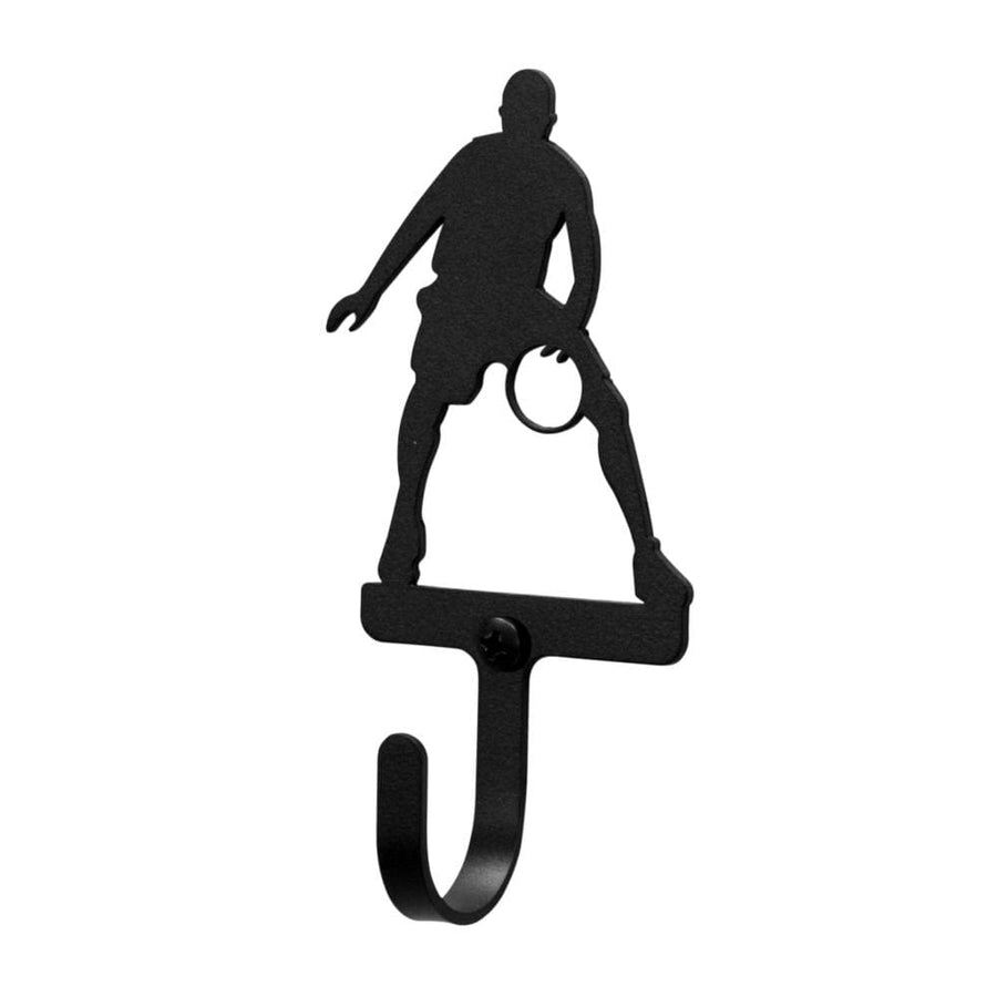 Wrought Iron Basketball Player Wall Hook Decorative Small basketball hook Basketball Player Wall