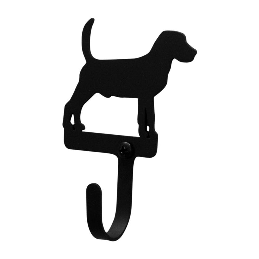 Wrought Iron Beagle Dog Wall Hook Decorative Small Beagle Dog Wall Hook beagle hook coat hooks door