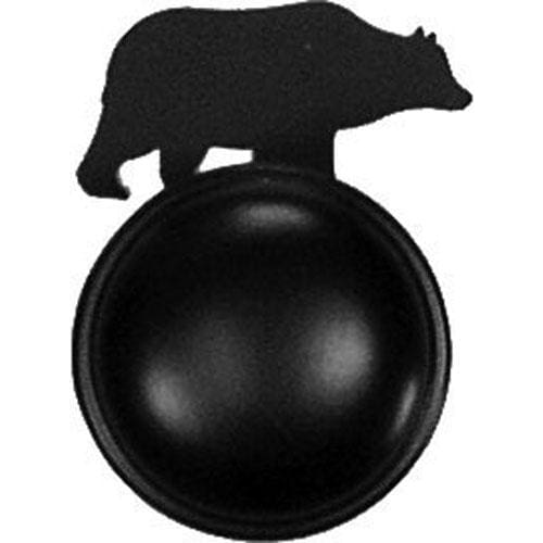 Wrought Iron Bear Cabinet Door Knob door hardware door knob doorhandles doorknobs handmade knobs