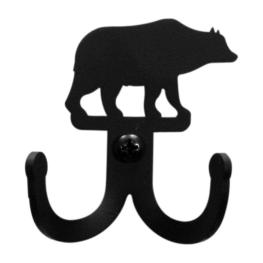Wrought Iron Bear Double Wall Hook bear hook coat hooks door hooks hook wall hook