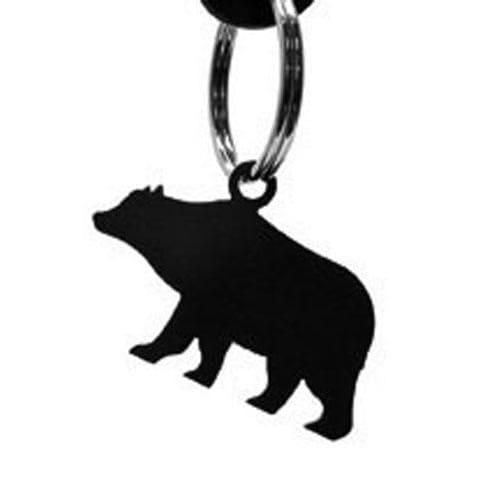 Wrought Iron Bear Keychain Key Ring key chain key pendant key ring keychain keyrings