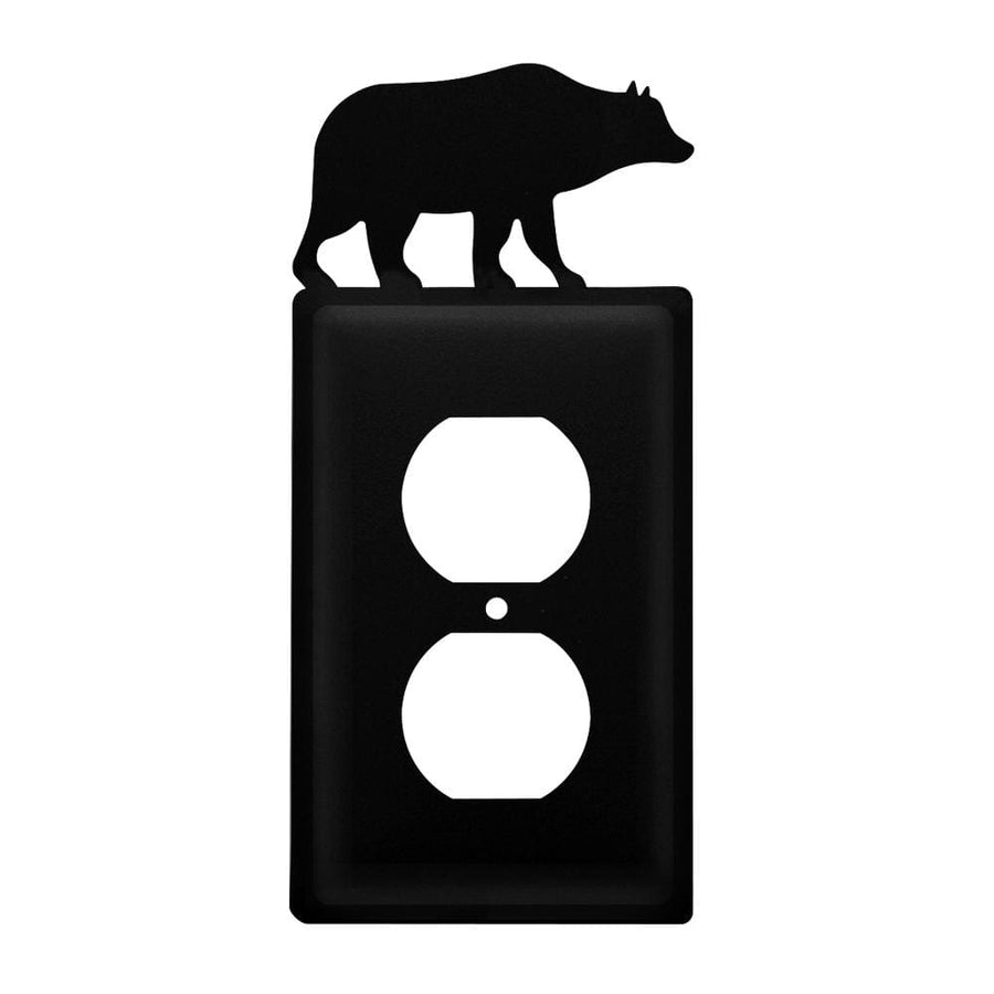 Wrought Iron Bear Outlet Cover light switch covers lightswitch covers outlet cover switch covers