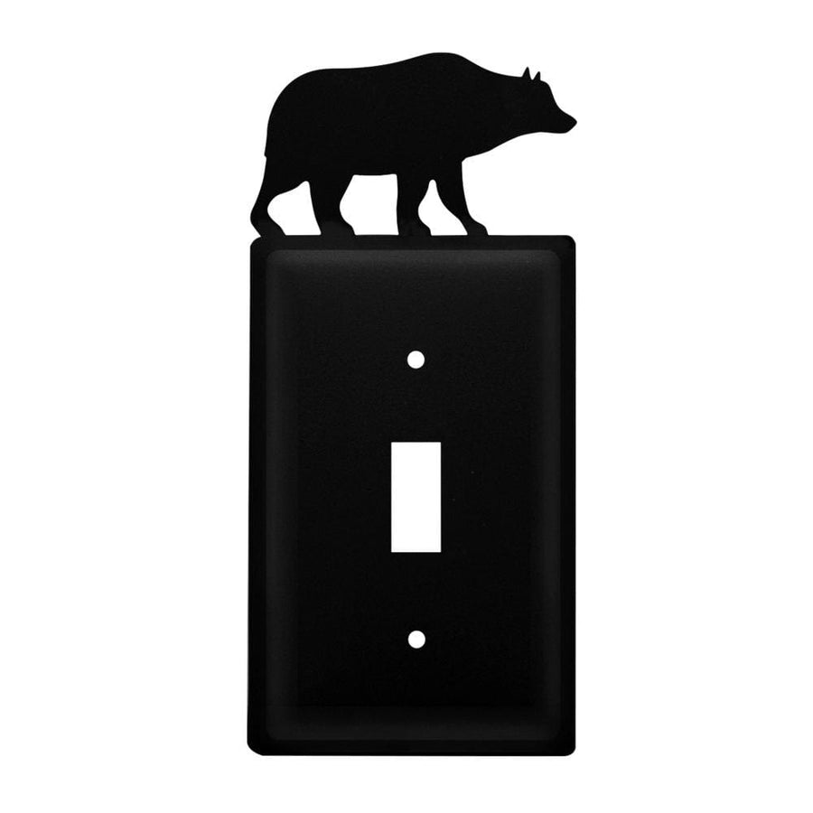 Wrought Iron Bear Switch Cover light switch covers lightswitch covers outlet cover switch covers