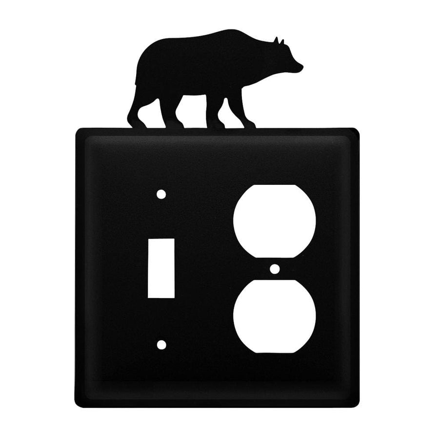 Wrought Iron Bear Switch Outlet Cover light switch covers lightswitch covers outlet cover switch