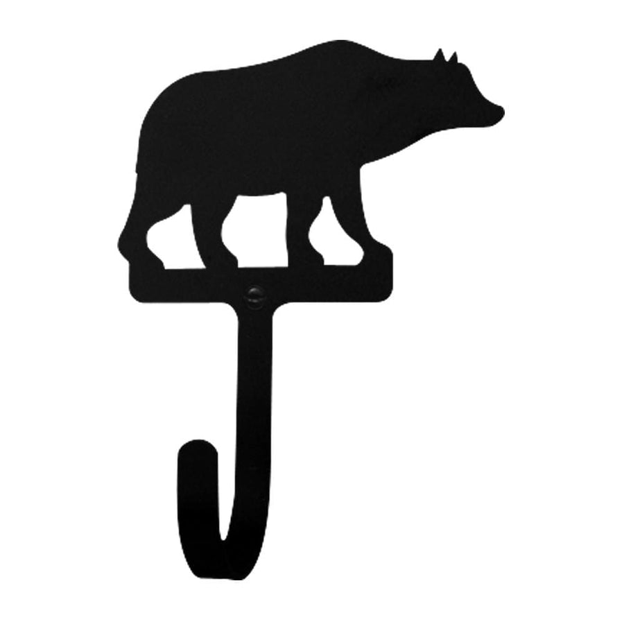 Wrought Iron Bear Wall Hook Decorative Large bear hook Bear Wall Hook coat hooks door hooks hook