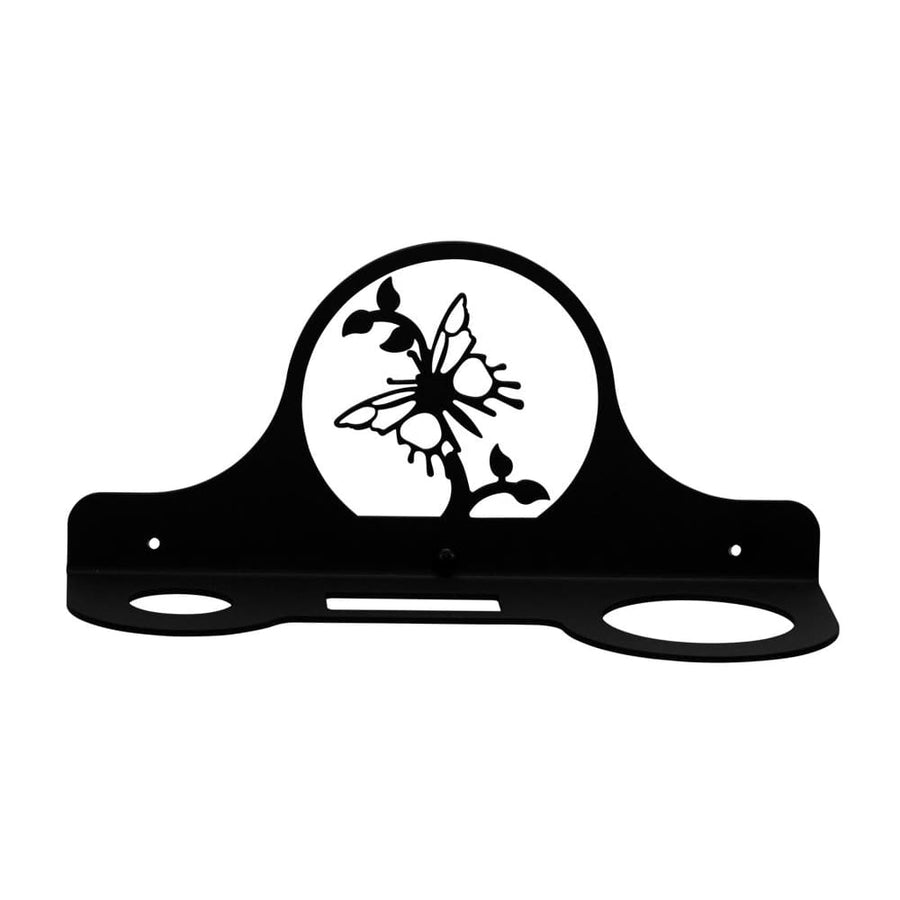 Wrought Iron Butterfly Hair Dryer Holder Rack dryer rack hair dryer hair dryer holder hair dryer