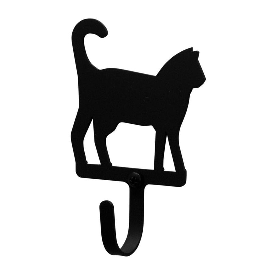 Wrought Iron Cat Magnet Hook coat hooks door hooks hook magnet hook wall hook