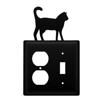 Wrought Iron Cat Outlet & Switch Cover light switch covers lightswitch covers outlet cover switch