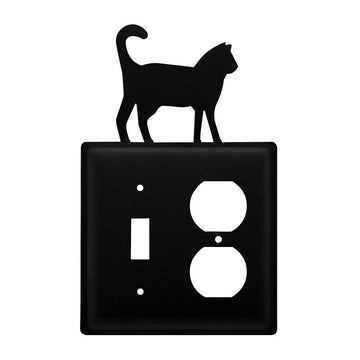 Wrought Iron Cat Switch & Outlet Cover new outlet cover Wrought Iron Cat Switch & Outlet Cover