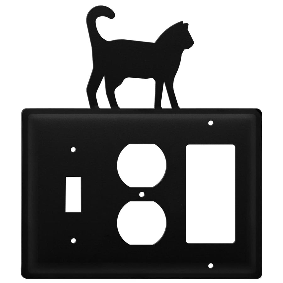 Wrought Iron Cat Switch Outlet GFCI Cover light switch covers lightswitch covers outlet cover switch
