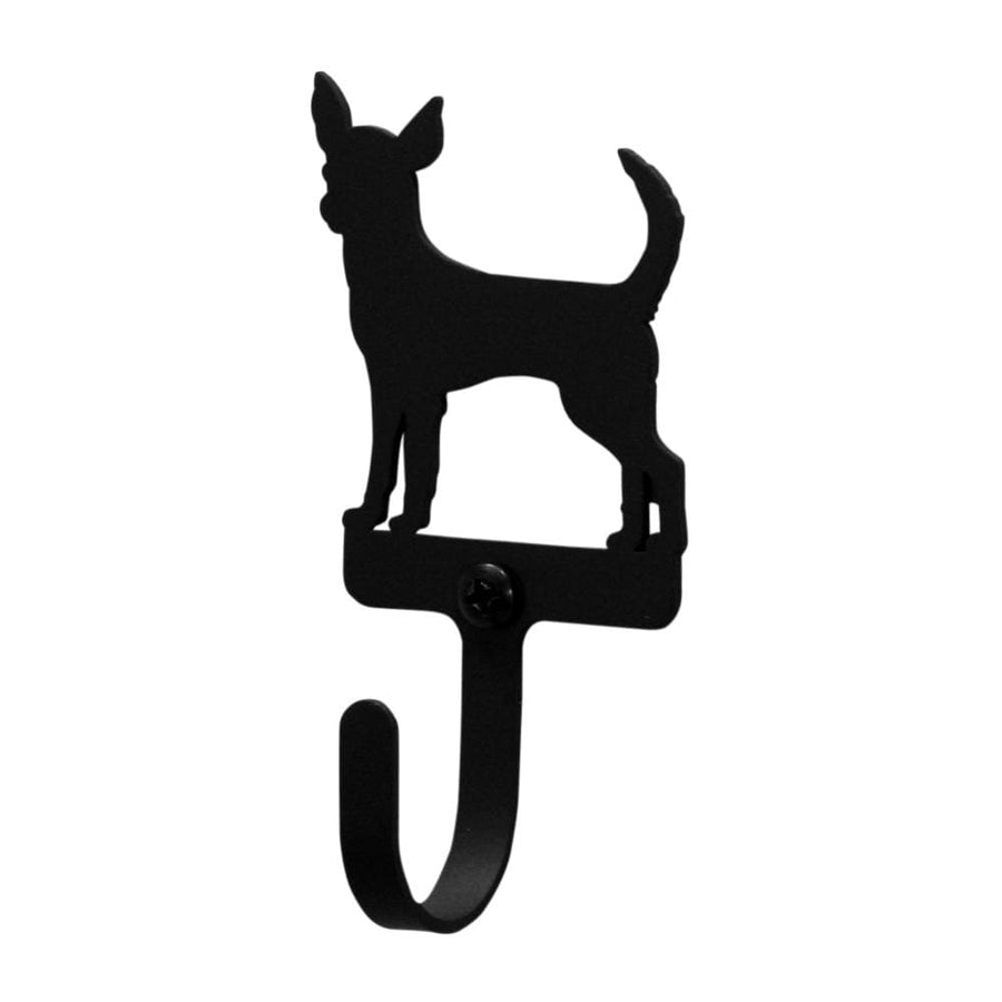 Wrought Iron Chihuahua Dog Wall Hook Decorative Small Chihuahua Dog Wall Hook chihuahua hook coat
