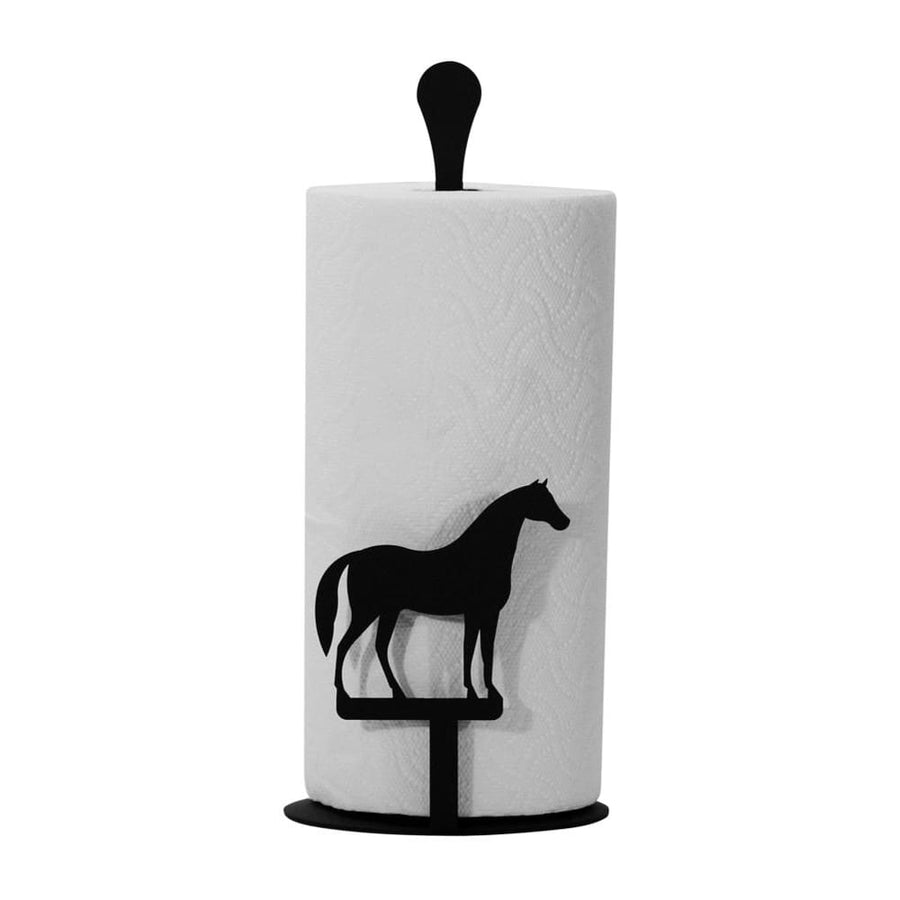 Wrought Iron Counter Top Horse Paper Towel Holder kitchen towel holder paper towel dispenser paper