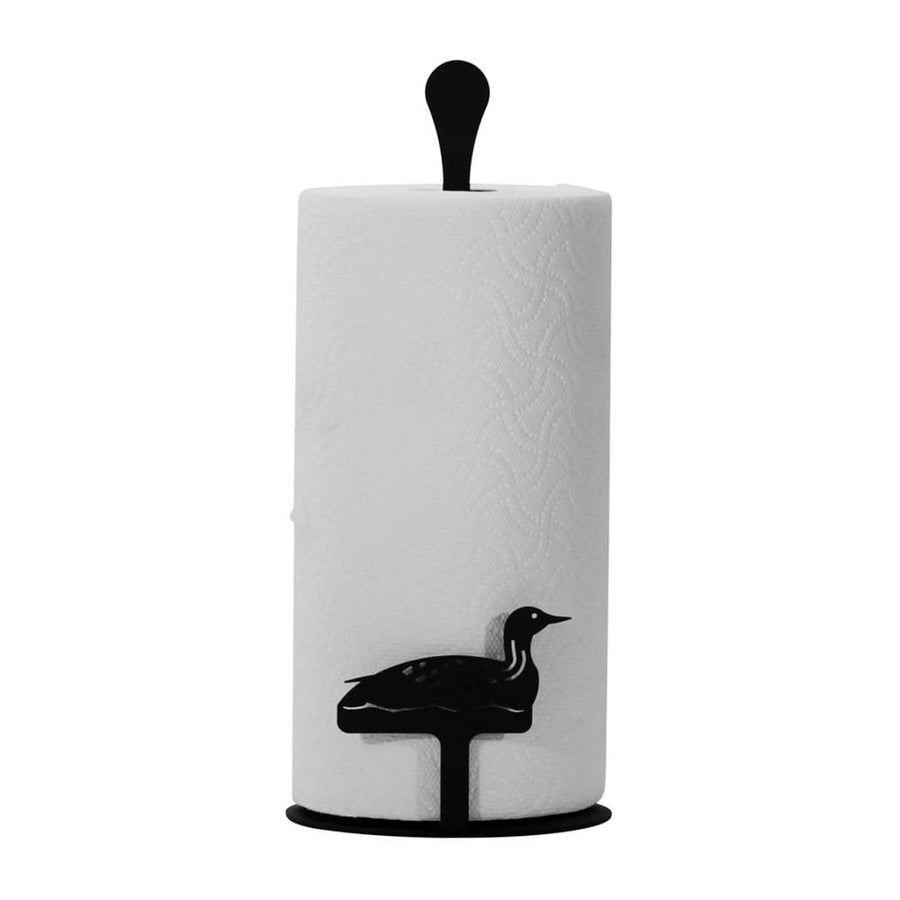 Wrought Iron Counter Top Loon Paper Towel Holder kitchen towel holder paper towel dispenser paper