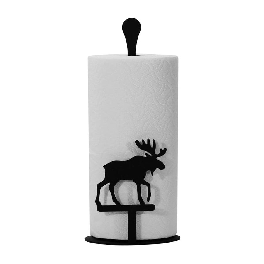 Wrought Iron Counter Top Moose Paper Towel Holder kitchen towel holder paper towel dispenser paper