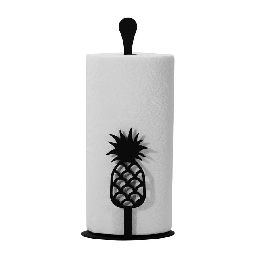 Wrought Iron Counter Top Pineapple Paper Towel Holder kitchen towel holder paper towel dispenser