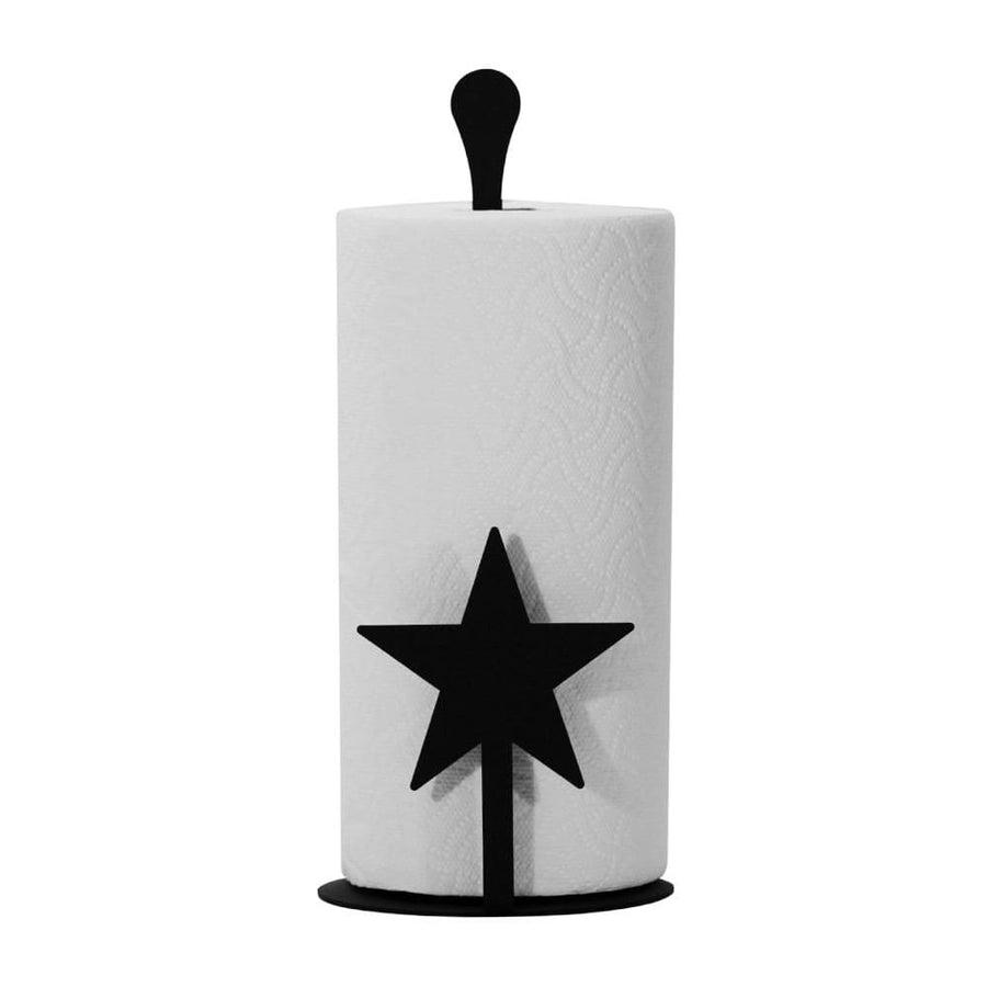 Wrought Iron Counter Top Star Paper Towel Holder kitchen towel holder paper towel dispenser paper