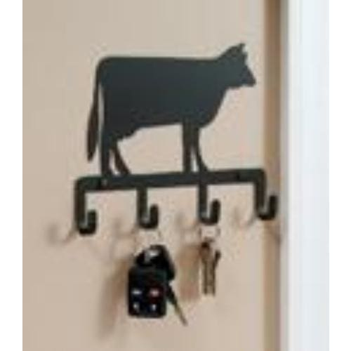 Wrought Iron Cow Key Holder Key Hooks key hanger key hooks Key Organizers key rack