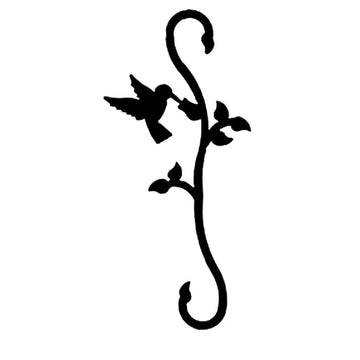 Wrought Iron Decorative Hummingbird S Hook garden hook hanging plant hooks plant hangers s hook