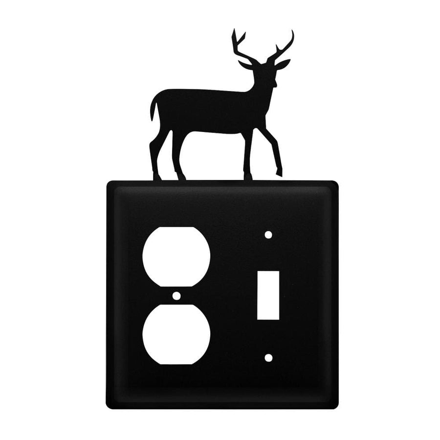 Wrought Iron Deer Outlet & Switch Cover light switch covers lightswitch covers outlet cover switch
