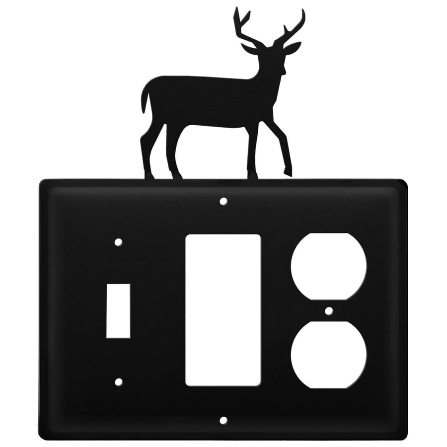 Wrought Iron Deer Switch GFCI Outlet Cover light switch covers lightswitch covers outlet cover
