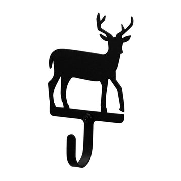 Wrought Iron Deer Wall Hook Decorative Xsmall coat hooks deer hook Deer Wall Hook door hooks hook