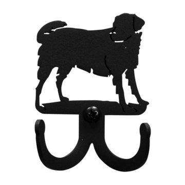 Wrought Iron Dog Double Wall Hook Decorative coat hooks dog accessories Dog Double Wall Hook dog