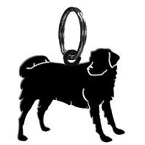 Wrought Iron Dog Keychain Key Ring dog accessories key chain key ring keychain keyrings